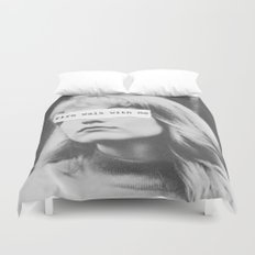 Fire Walk With Me Duvet Cover