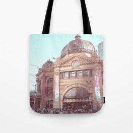 Flinders Street Station, Melbourne, Australia Tote Bag