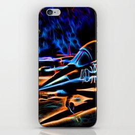Neon Jet iPhone Skin