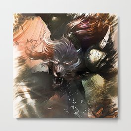League of Legends WARWICK Metal Print