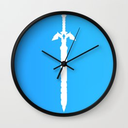 Darkness Sealing Sword - Legend of Zelda Wall Clock