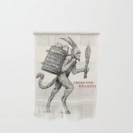 Gruss vom Krampus Wall Hanging