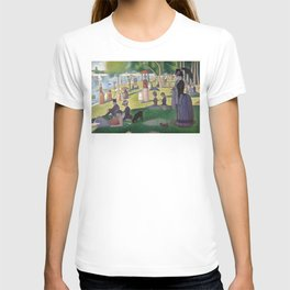 Georges Seurat - A Sunday Afternoon on the Island of La Grande Jatte T-shirt