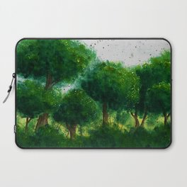 watercolor forest Laptop Sleeve