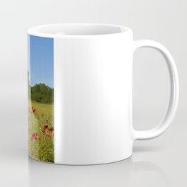 Penshaw Monument Poppys Coffee Mug