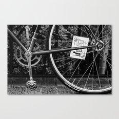 Wheeled Warrior Canvas Print