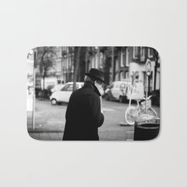 The Man in the Trench Coat Bath Mat