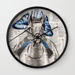 Race Wall Clock