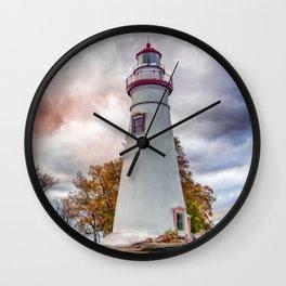 Marble-head Lighthouse Wall Clock