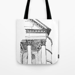 The Pantheon, Rome Tote Bag