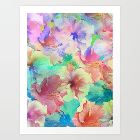 Hibiscus Dream #2 Art Print