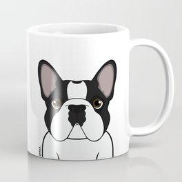 Frenchie - Brindle Pied Coffee Mug