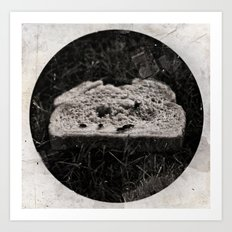 Discarded Bread Art Print
