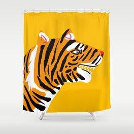 wild jungle cat - 1 Shower Curtain