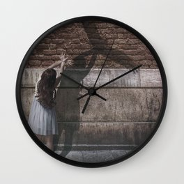 One Day I'll Fly Away Wall Clock
