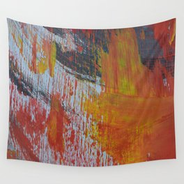 Abstract Paint Swipes Wall Tapestry
