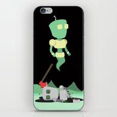 A Ghastly Crime iPhone & iPod Skin
