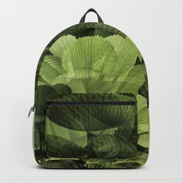 """Greenery Leaves at the Spring Garden"" Backpack"