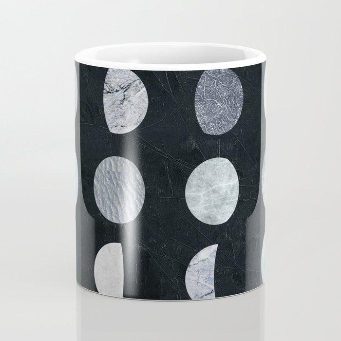 MOON PHASE - PRINTED MOON ILLUSTRATION Coffee Mug