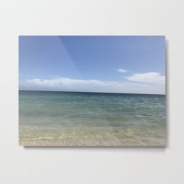 beach photo Metal Print