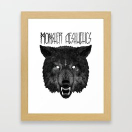 ‡ hell hound ‡  Framed Art Print