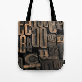 Movable Type 01 Tote Bag
