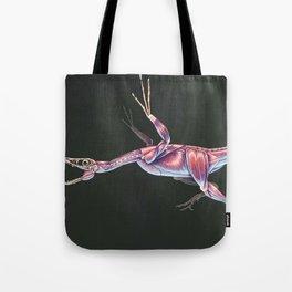 Microraptor Gui Muscle tudy (No Labels) Tote Bag