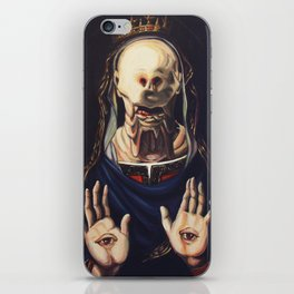 Pale Man With Crown iPhone Skin