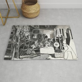 Pablo PIcasso The Maids Of Honor, Las Meninas, after Velázquez, 1957 Artwork Reproduction, Tshirts, Rug