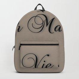 La Vie C'est De La Marde! Backpack