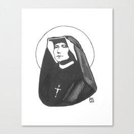 St. Faustina Kowalska Canvas Print