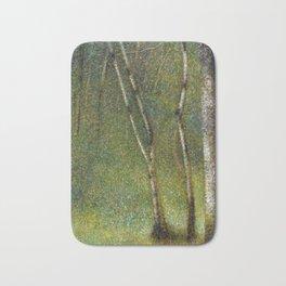 Georges Seurat The Forest at Pontaubert Bath Mat
