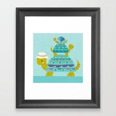 turtle tower Framed Art Print