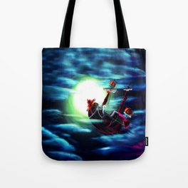 the sunny flaying Tote Bag
