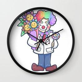 Doctor Clown Childrens Hospital Gift Wall Clock