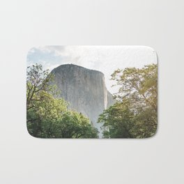 The mountain rock Bath Mat