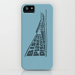 Buffalo's Bison Plumbing iPhone Case