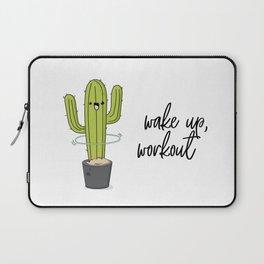 Cactus workout Laptop Sleeve