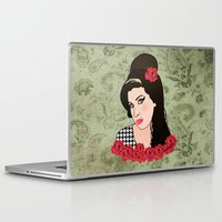 amy sia Laptop & iPad Skins featuring Amy  by Pendientera