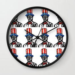 In Marley We Trust Wall Clock