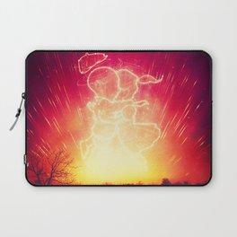 Cosmo + Celeste ( Colorful Cosmological Night Sky Couple in Love ) Laptop Sleeve
