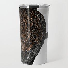 Art print: The buzzard on a branch Travel Mug