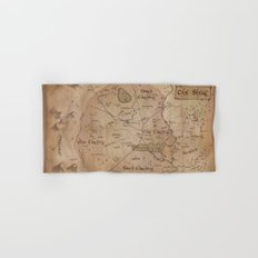 Map of the Shire Hand & Bath Towel