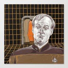 Star Trek: TNG Lt Broccoli Canvas Print