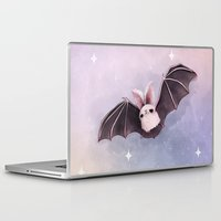 bat Laptop & iPad Skins featuring ✞ Bat ✞ by Lili Um
