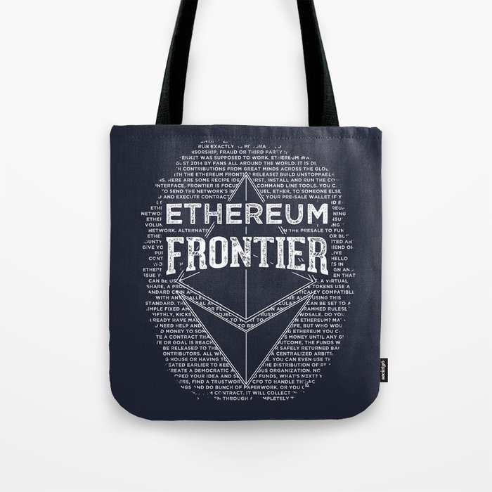 Ethereum Frontier Tote Bag