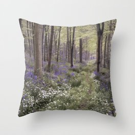 The Secret Path Throw Pillow