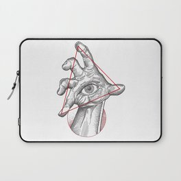 Our fate in whose hand? Laptop Sleeve