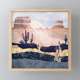 Autumn Desert Framed Mini Art Print