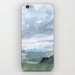 Landscapes in my mind iPhone Skin